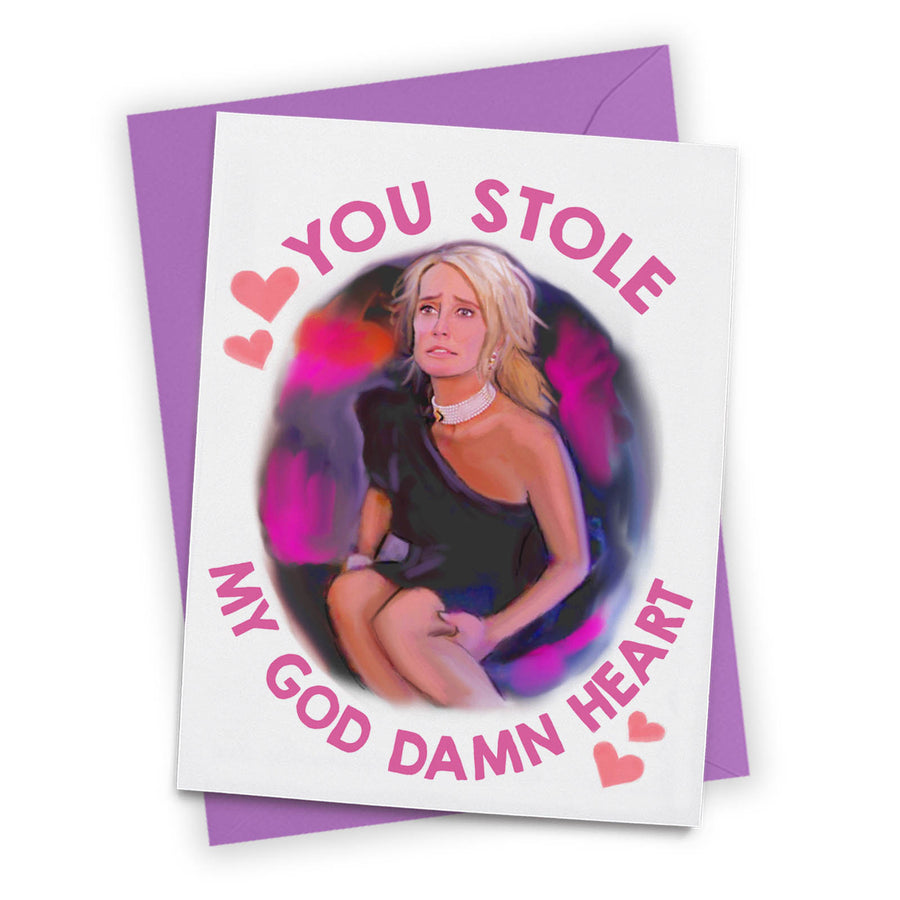Kim Stole My Heart Greeting Card