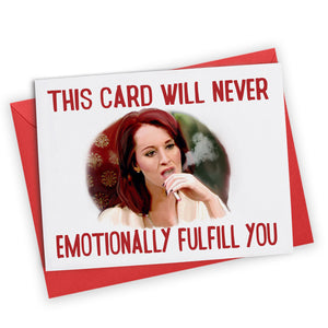 """Emotionally Fulfill You"" Greeting Card"