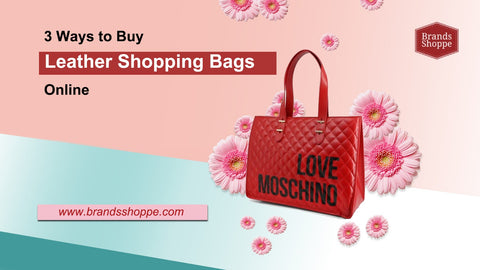 Leather-Shopping-Bags