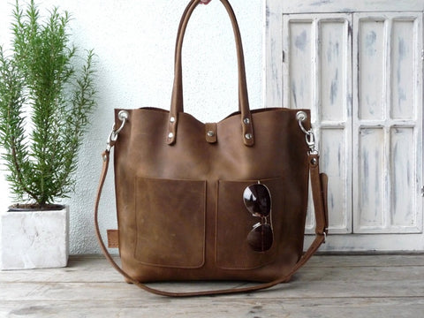 Branded Leather Bags