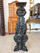 MUSEUM-CLASS STUNNING ROCOCO REVIVAL FLOWERBED – 19th century - Vintage Clock Face