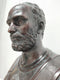 Bronze Bust of the Roman Emperor Hadrian - Vintage Clock Face