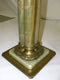 COLUMN (POSTUMENT), GREEN ONYKS 20th - Vintage Clock Face