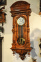 Antique  Wall Clock Gustav Becker, 145 cm! 19th - Vintage Clock Face