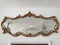 A MAGNIFICENT PANORAMIC MIRROR IN PIEDMONTESE BAROQUE STYLE - Vintage Clock Face