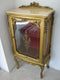ORIGINAL AUXILIARY DISPLAY CASE – PERFUME CABINET – ROCOCO REVIVAL - Vintage Clock Face