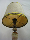 Onyx Table Lamps - Vintage Clock Face
