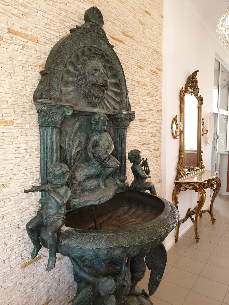 A UNIQUE PALACE WALL FOUNTAIN – 20th CENTURY - Vintage Clock Face