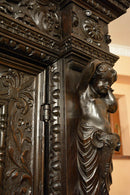 Neo-Renaissance wardrobe 18th - Vintage Clock Face