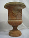 Spectacular 20th Century Carved Italy Garden Vase - Vintage Clock Face