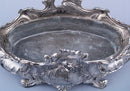 Louis XV Style Table Centerpiece France circa 1900 - Vintage Clock Face