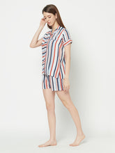 Load image into Gallery viewer, Muti Stripe Shorts Set
