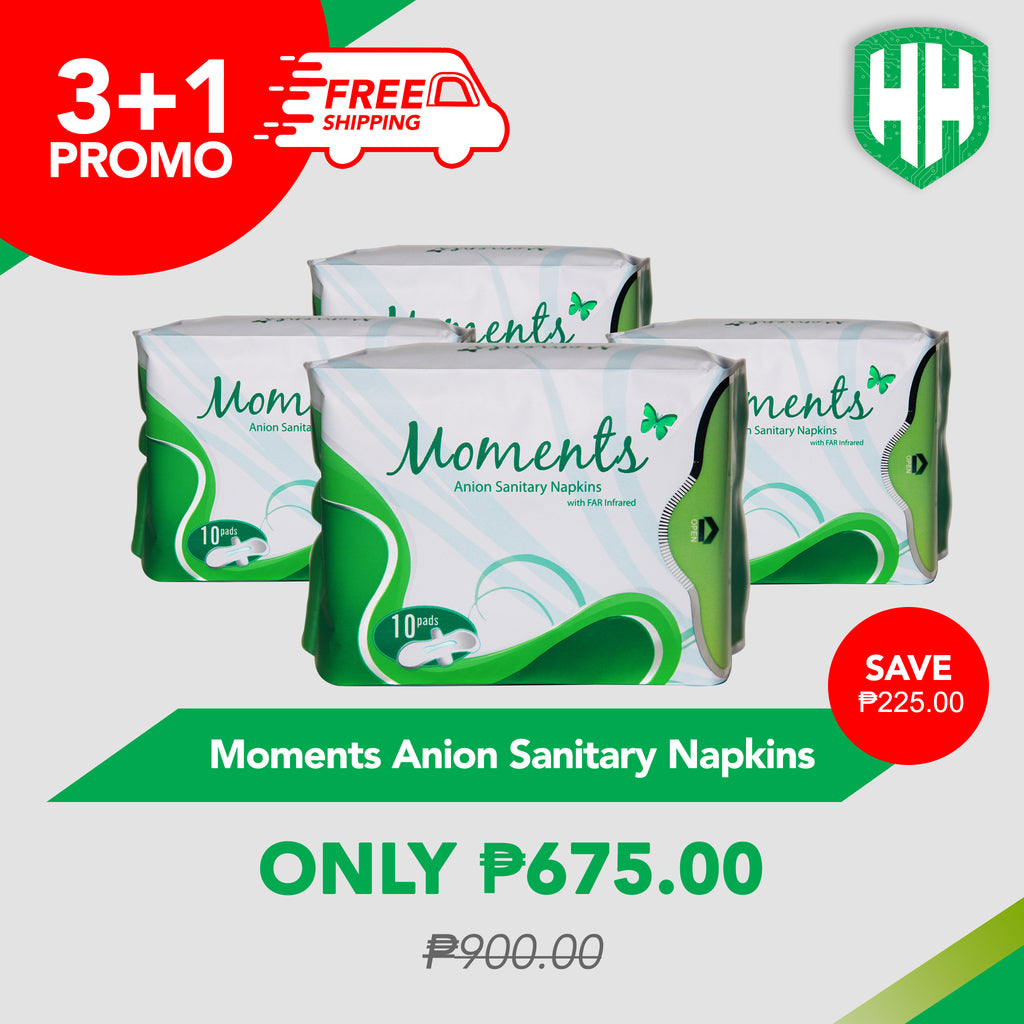 3+1 Moment Anion Sanitary Napkins