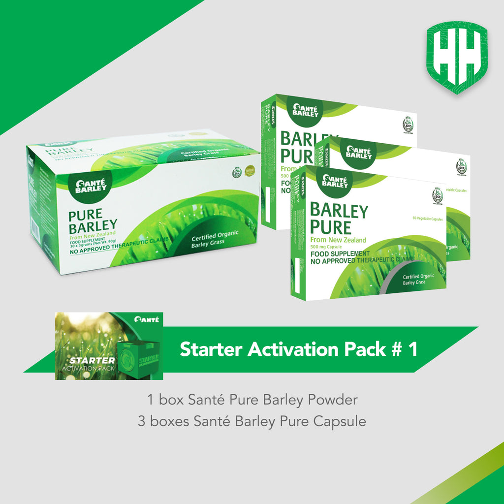 Health Hero Starter Activation Pack 1