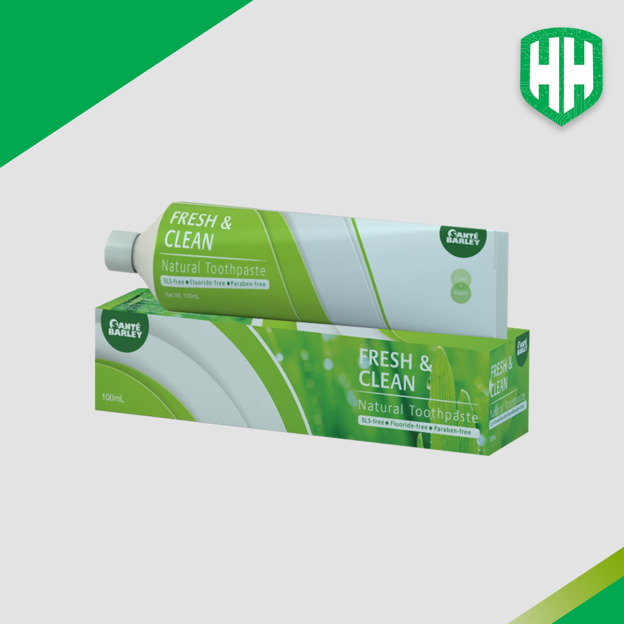 Santé Fresh & Clean Natural Toothpaste