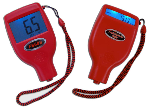 Paint Thickness Meter Gauge for Car Dealers