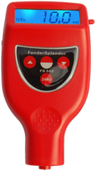 Dry Film Thickness Gauge made by FenderSplendor Paint Meters, the FS502 Mil Thickness Gauge