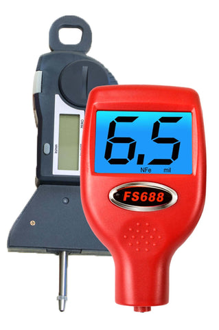 FS688 Professional Paint Meter with Digital Tire Gauge