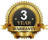FS688 is backed by a 3 year warranty