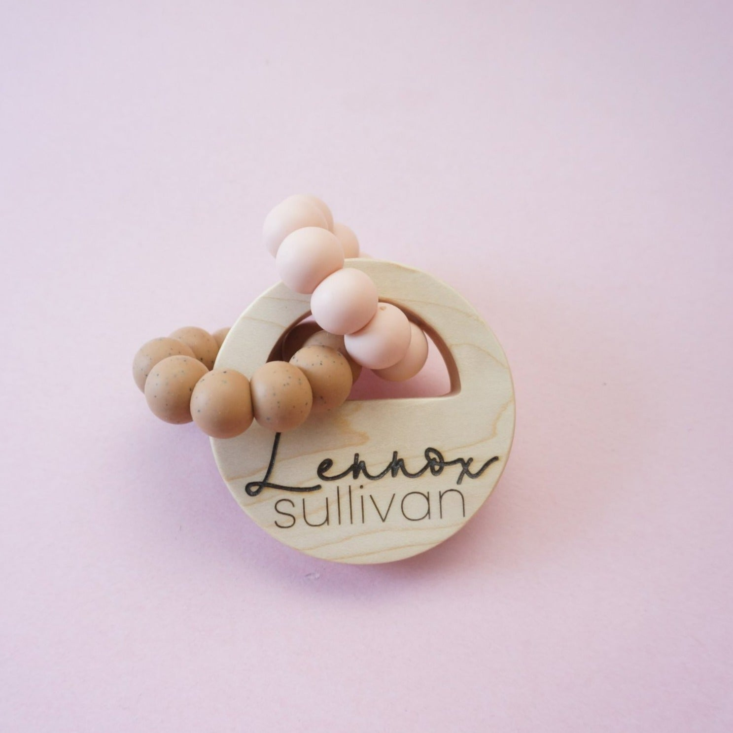 Personalized Locket Teether