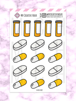 Pills Mini sheet