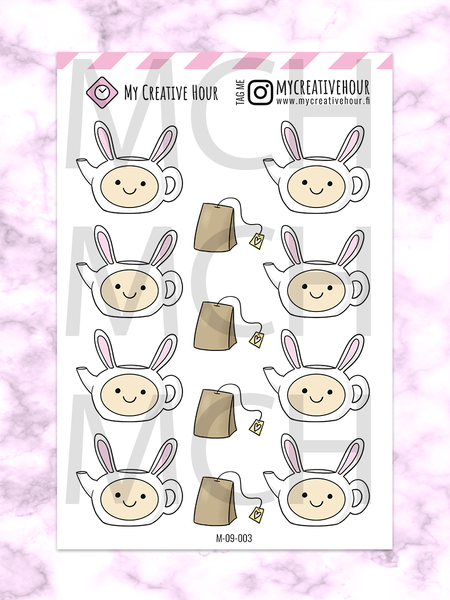 Tea Mini sheet