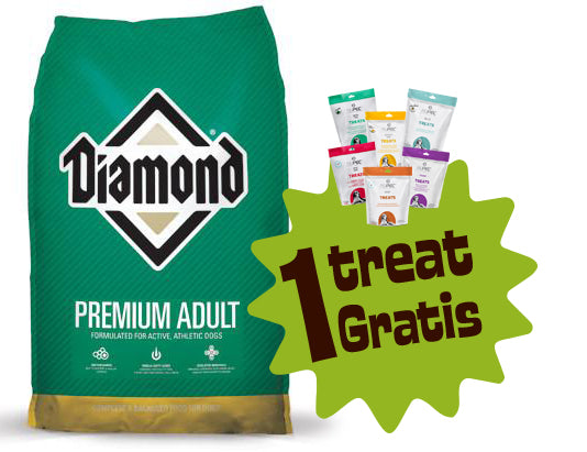 Diamond Premium 8 lbs (3.632 Kg.) + 1 Treat Nupec Gratis