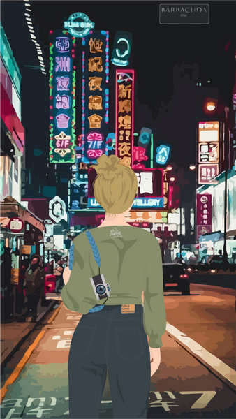 Hong Kong Phone Wallpaper