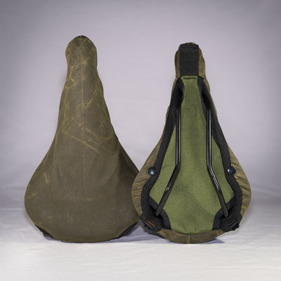 Saddle Covers - Waxed Canvas - Randi Jo Fabrications