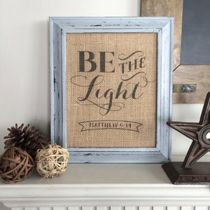 Be the Light - Matthew 5:14