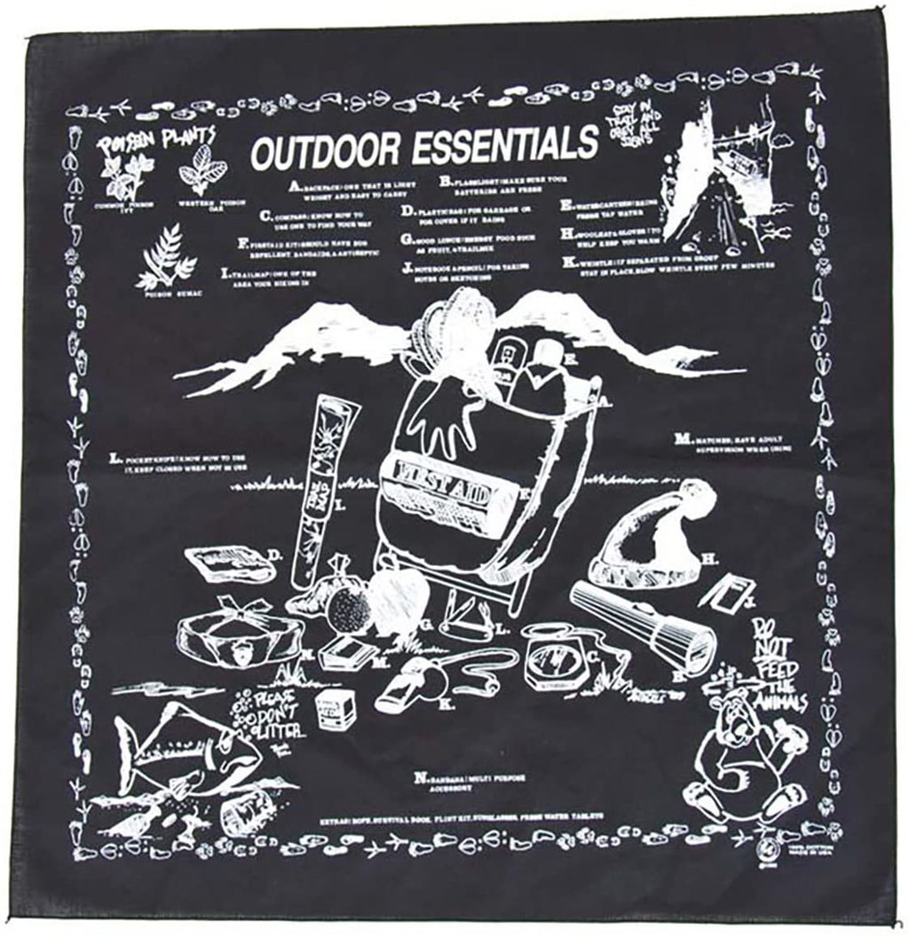 BANDANA OUTDOOR ESSENTIAL