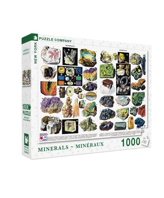Minerals and Gems Puzzle