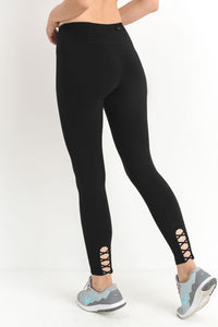 CRISS CROSS POCKET LEGGING