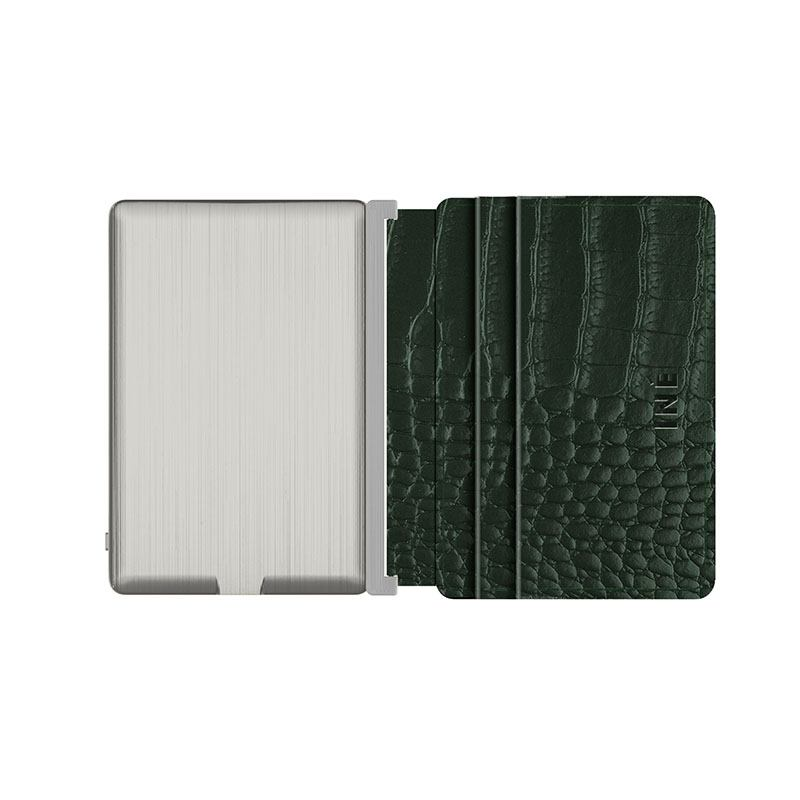 Iné • The Wallet Recycled Leather Alligator