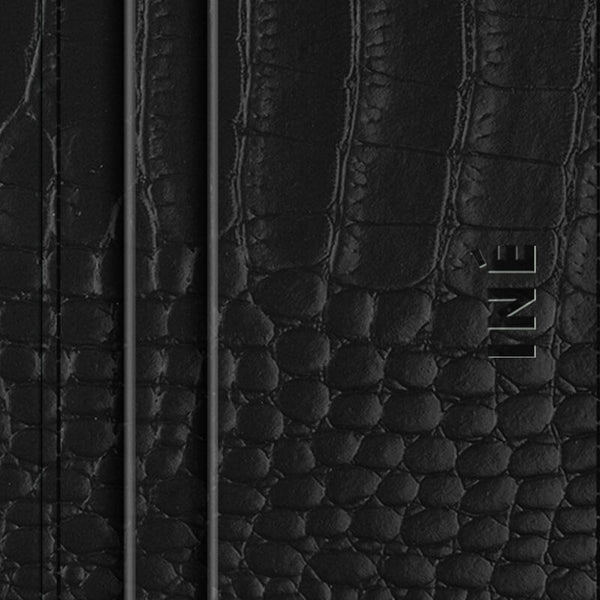 Iné • The Wallet Recycled Leather Aligator