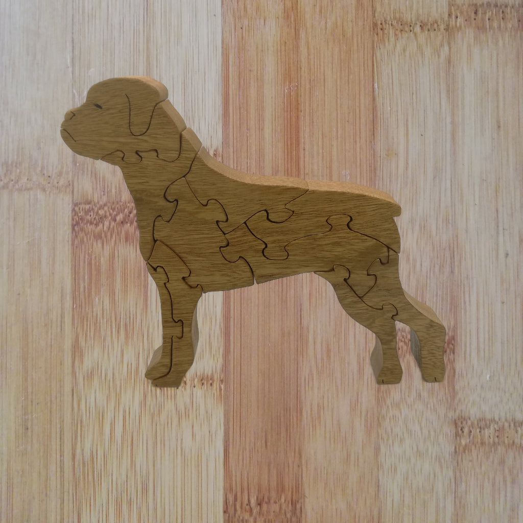 Boxer: handmade wooden puzzle