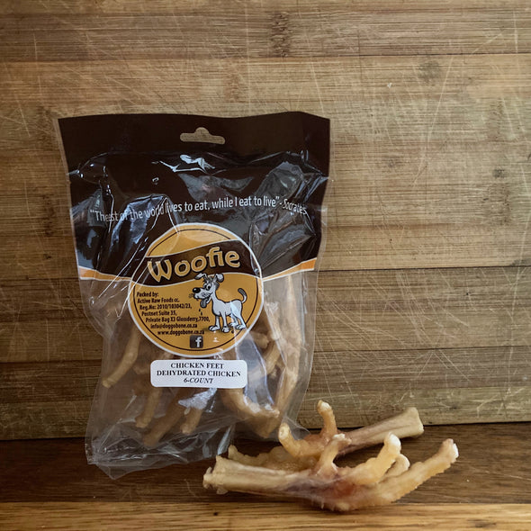 Dried Chicken Feet (pack of 6)