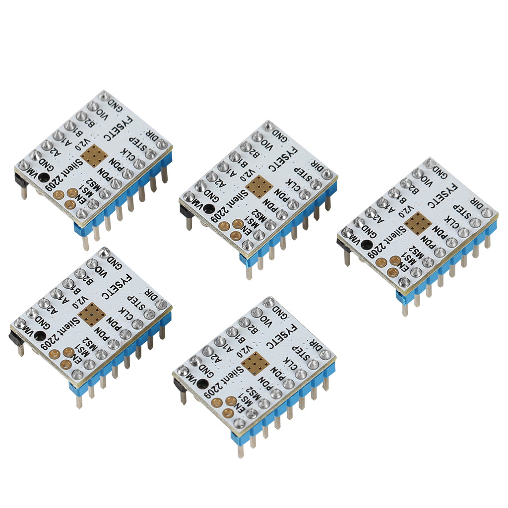 20pcs TMC2209 V2.0 Stepper Motor Driver Super Silent Stepsticks Mute Driver Board 256 Microsteps For Sidewinder 3D Printer