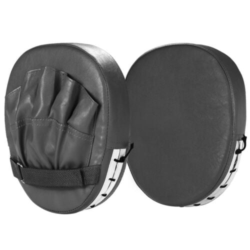 Pair of Boxing Punching Pads Mitts Gloves MMA Focus Boxing Pads Sparring Gloves