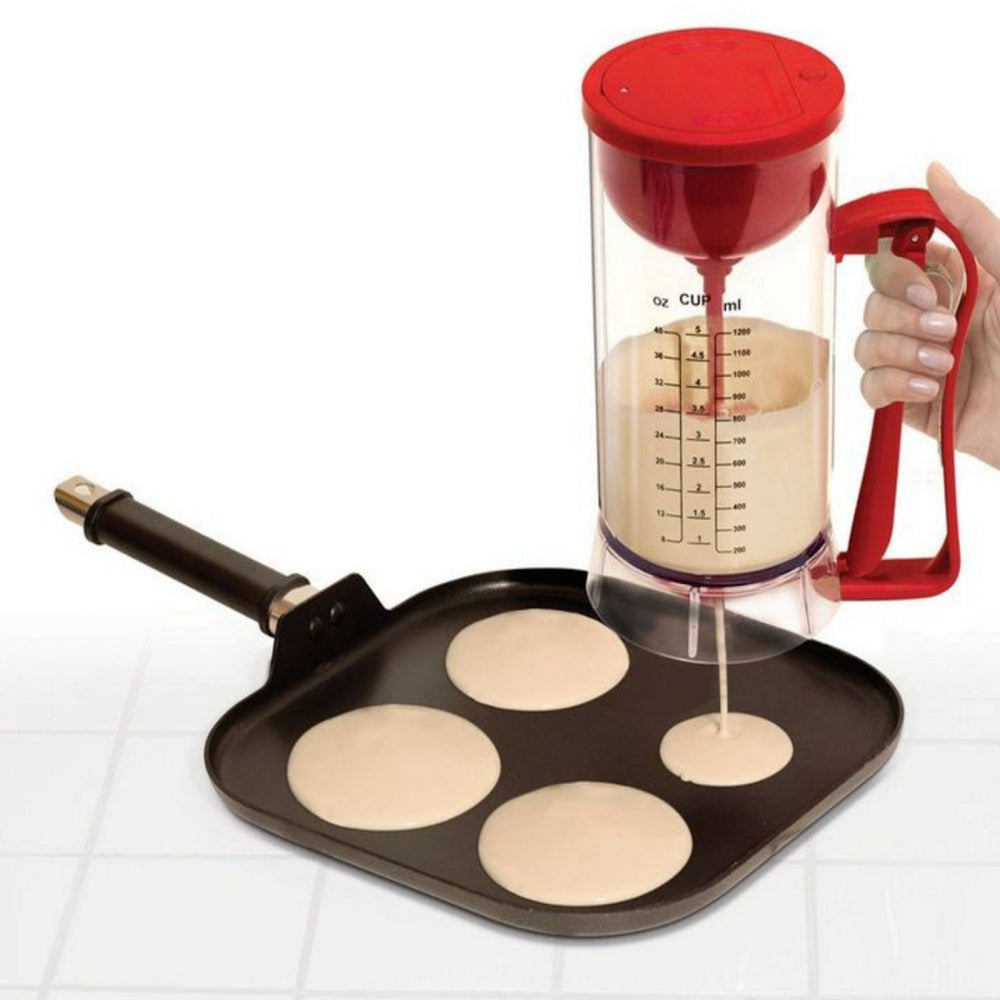 Waffle-opolous™ Cordless Electric Batter Dispenser
