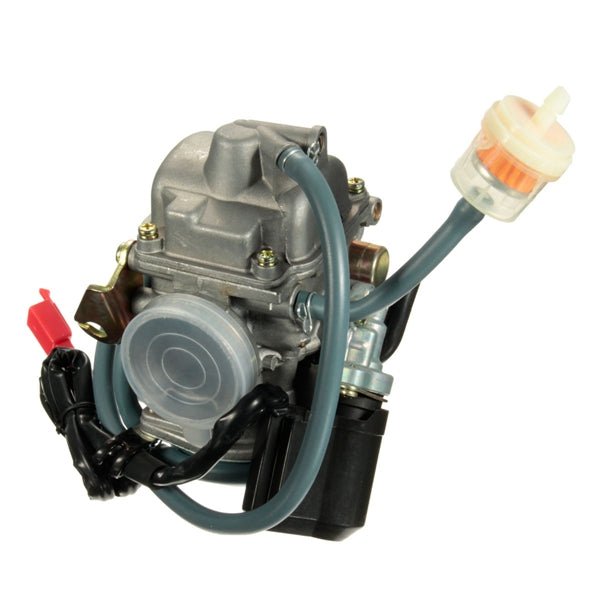 25mm GY6 150cc 4-stroke Scooter Moped Carburetor Carb For ATV Gokart Roketa Taotao