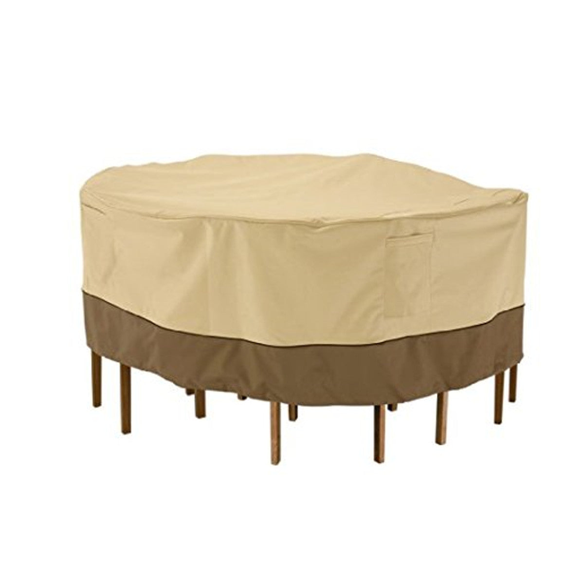 Garden Round Waterproof Table Cover Patio Furniture Cover Outdoor Shelter Protection