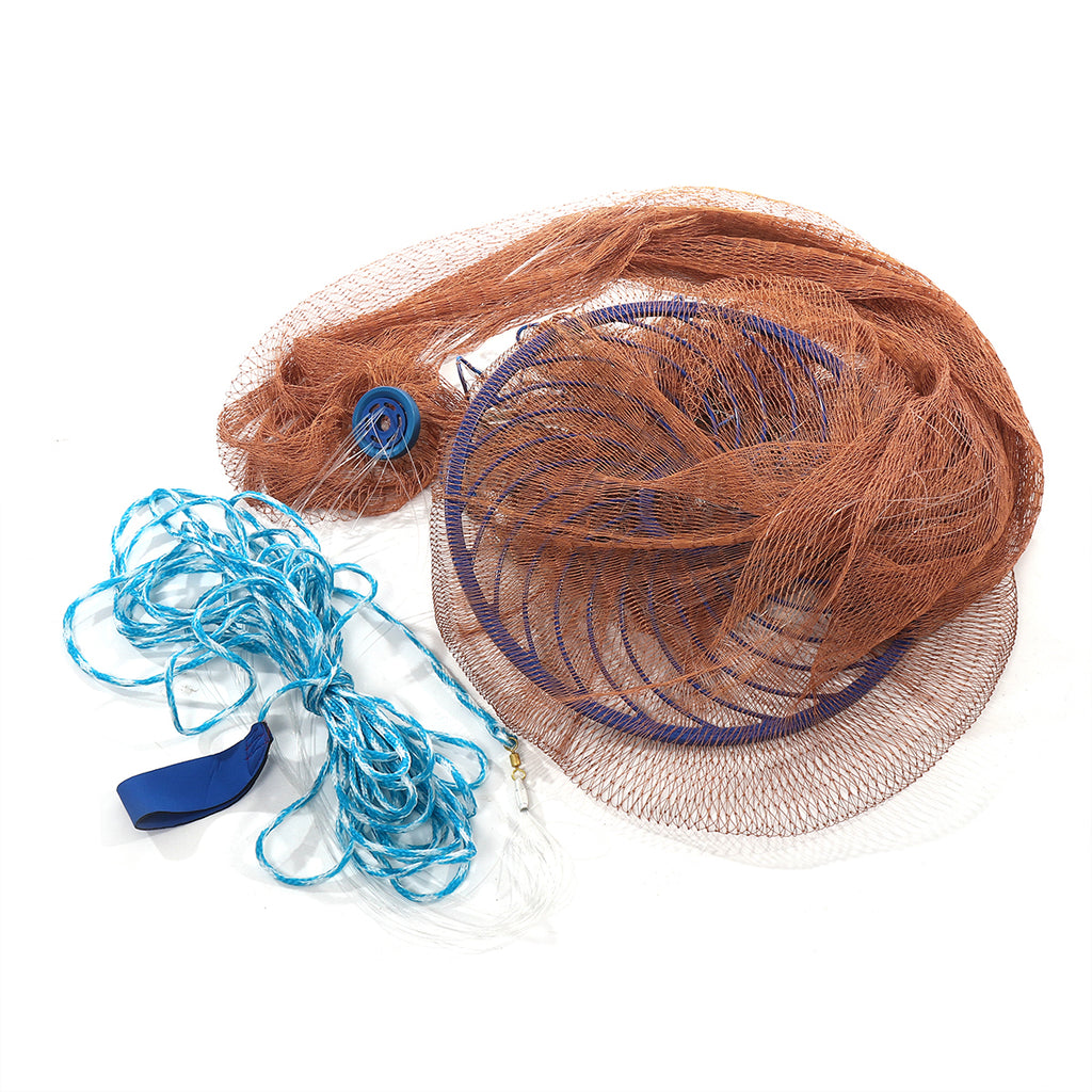 Easy Throw Manual Fishing Net by Hand 3M 10FT