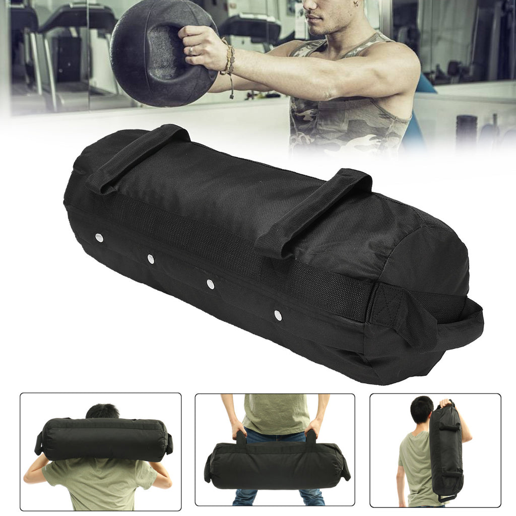 40/50/60 Ibs Adjustable Weightlifting Sandbag Fitness Muscle Training Weight Bag Exercise Tools