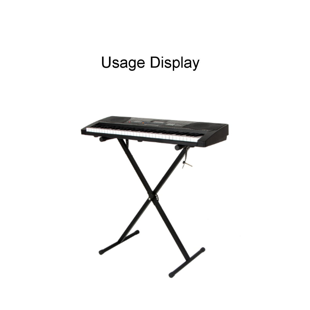 Portable Heavy Duty X Frame Folding Adjustable Keyboard Piano Stand