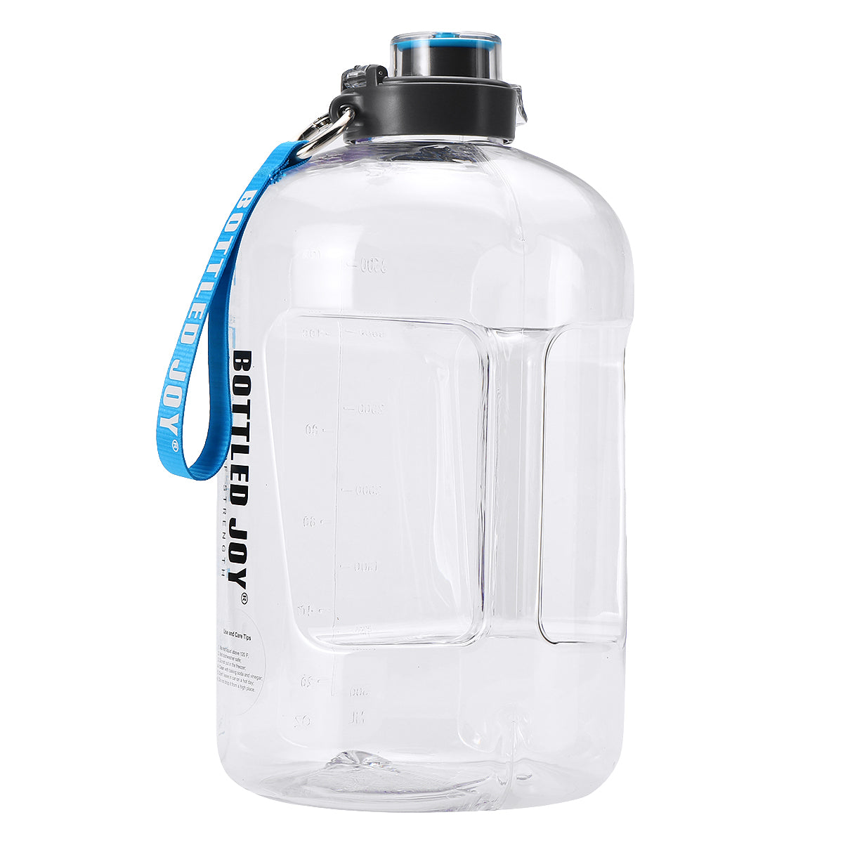 Bottled JOY Large Capacity Sports Bottle 1 Gallon / 3.78 L
