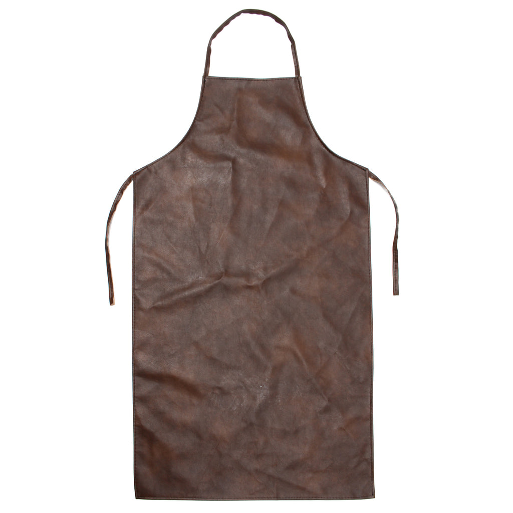 Leather Equipment Apron Waterproof Washable Heat Insulation Kitchen Aprons