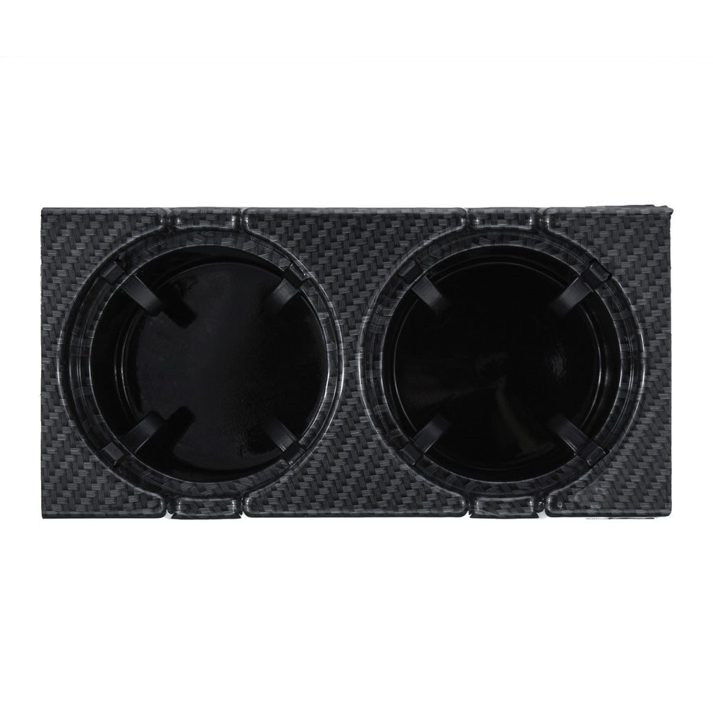 Carbon Fiber Center Console Drink Cup Coin Holder Box for BMW 3 Series E46 99-06