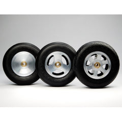 "Aluminum Wheel for 3"" - 3 1/4"" Tire 3/16"" Axle"