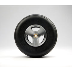 "Aluminum Wheel for 3 1/2"" - 4"" Tire 3/16"" Axle"